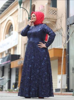 Dantel Kapli Abiye Elbise Lacivert Saliha Informasi Tips Dan Foto Aneka Baju Gamis Modern Terbaru Yang Lagi Tre Model Pakaian Pakaian Pesta Pakaian Wanita