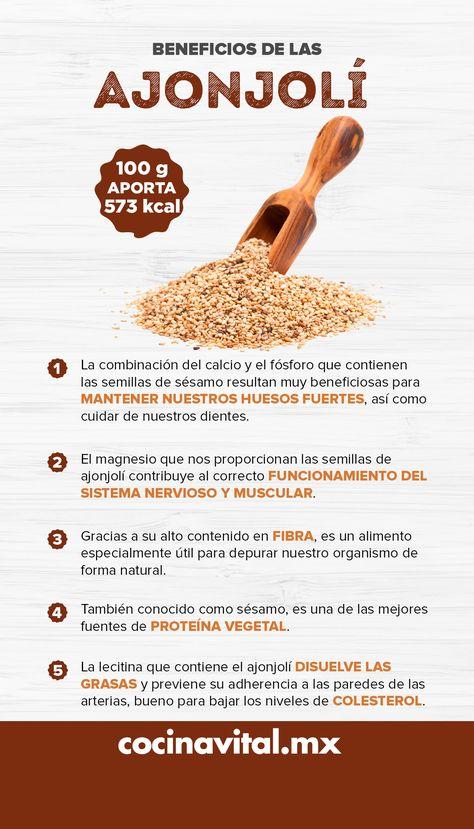 Beneficios De Las Semillas De Ajonjolí O Sésamo Tips Nutricion Recetas Para La Salud Beneficios De Alimentos