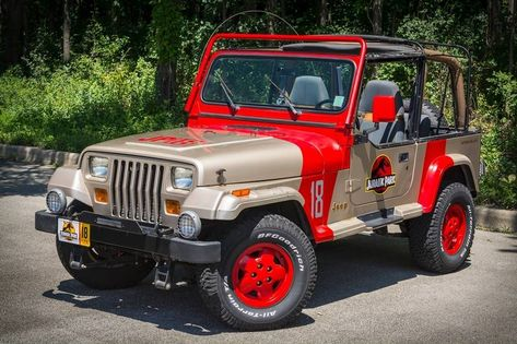 Jurassic Jeep Produces Dinosaur Size Enjoyment Jurassic Park