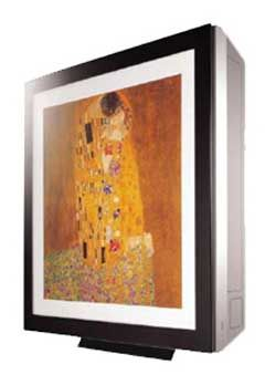 Lg Art Cool Air Conditioning Disguised As A Painting Lg Art Cool Portable Air Conditioning Systems Art
