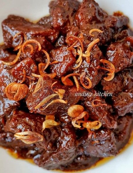Semur Betawi Daging Sapi Resep Masakan Masakan Daging Sapi