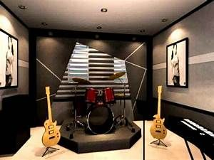 Surprising music room decorating ideas for rooms themed ...
