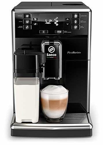 Saeco Picobaristo Sm5460 10 Kaffeevollautomat Integriertes Milchsystem Schwarz Kaffeevollautomat Espressomaschine Und Automaten