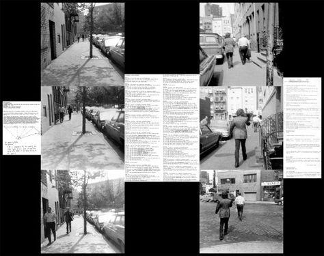 Vito Acconci Following Piece 1969 Photography Pinterest - vito k chen nobilia
