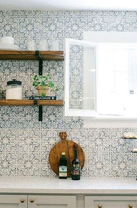 Trendy Farmhouse Kitchen Backsplash Ideas Gunstige 64 Ideen