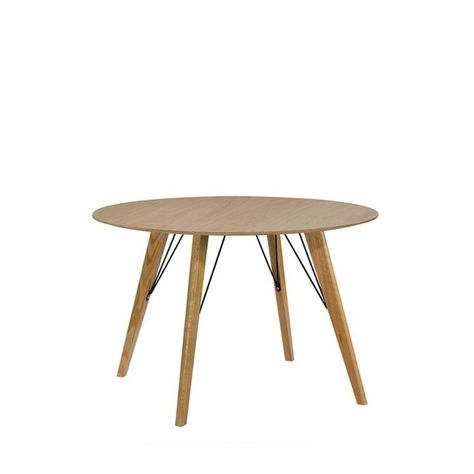 Cirkel Table A Manger Laquee Ronde O100 Taille 6 Pers