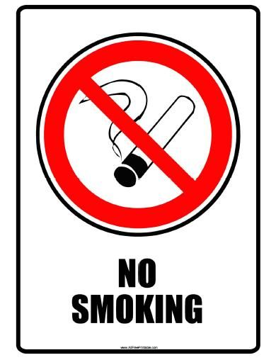 Pin On No Smoking