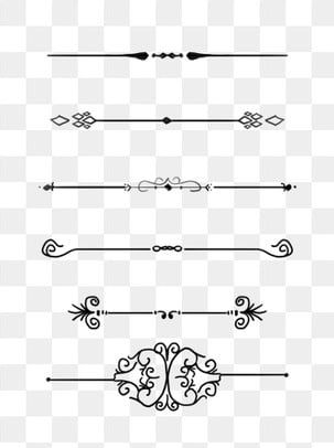 European Border Pattern Dividing Line Commonly Used Retro Commercial Elements Dividing Line Pattern Frame Png Transparent Clipart Image And Psd File For Free Border Pattern Graphic Design Background Templates Floral Border