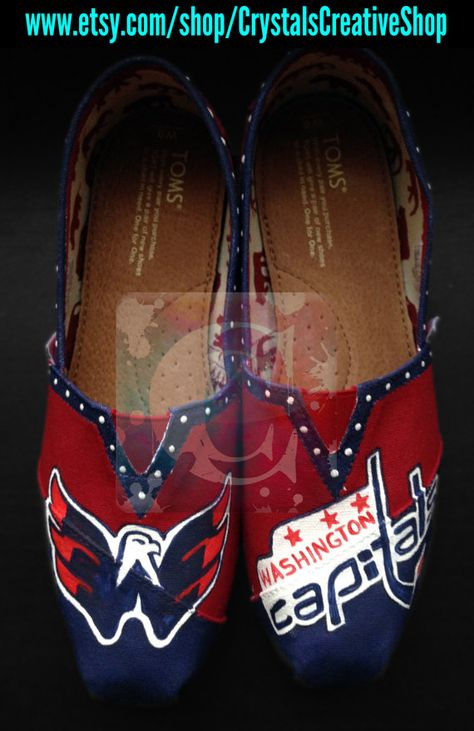 Washington Capitals Hockey NHL Painted by