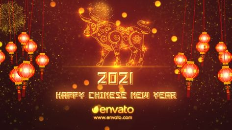 Chinese New Year of The Ox - After Effects Template