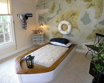 Boy S Bedroom Nautical Theme Kids Room Decorating Ideas