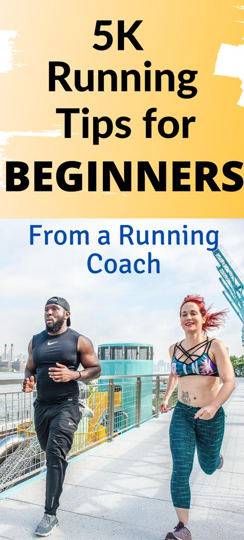 Running for beginners - how to run a 5K, with training tips from running coach Marnie Kunz. Running motivation, running workouts, running for weight loss plan, fitness. #running #runningforbeginners #fitness