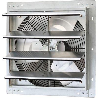 Iliving 16 Shutter Exhaust Fan Wall Mounted Variable Speed 1280 Cfm Workshop In 2020 Exhaust Fan Kitchen Exhaust Fan Exhaust Fan Vent