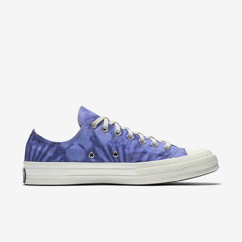 b9d19277612b Converse Chuck 70 Tie Dye Low Top Unisex Shoe - M 11.5   W 13.5 Purple