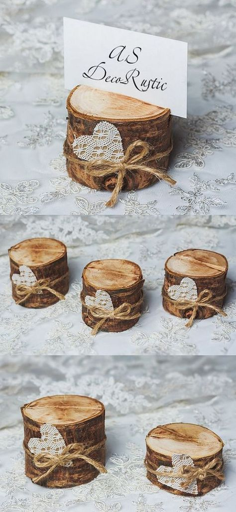 Items similar to 10 cherry wood holder for table numbers rustic wedding table number stand with lace heart wedding table decor bridal shower party set on Etsy - Hochzeit - Vintage Lace Weddings, Vintage Wedding Cards, Boho Vintage, Lace Wedding Invitations, Card Wedding, Wedding Table Cards, Wedding Shot, Wedding Pins, Wedding Ideas