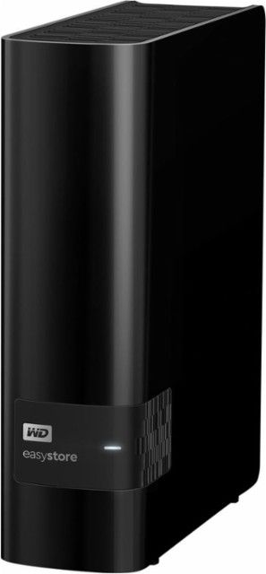 Wd Easystore 8tb External Usb 3 0 Hard Drive Black Wdbcka0080hbk Nesn External Hard Drive Hard Drive Cool Things To Buy