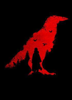 Itachi Uchiha Dark Red Poster Art Print By Ihab Design Displate In 2021 Dark Red Wallpaper Red And Black Wallpaper Dark Wallpaper Iphone