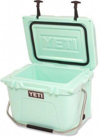 Yeti Roadie 20 Cooler Seafoam Green Yeti Roadie Yeti Coolers Yeti Cooler