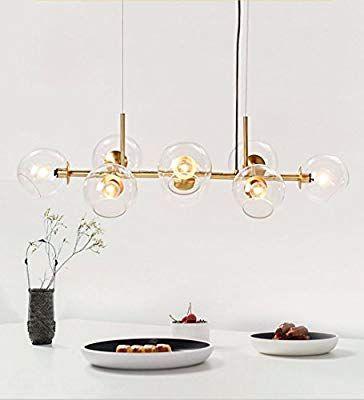 LED 7 W Hänge Leuchte Küche Beleuchtung Altmessing Pendel Lampe Esszimmer Licht