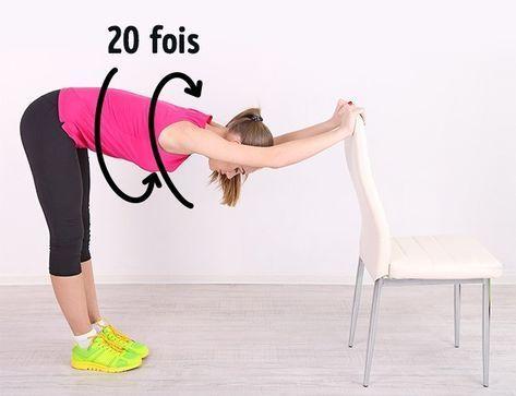 5 Exercices Pour Obtenir Un Ventre Parfait A Faire Avec Une Simple Chaise Ventre Parfait Exercice Sport Pour Maigrir