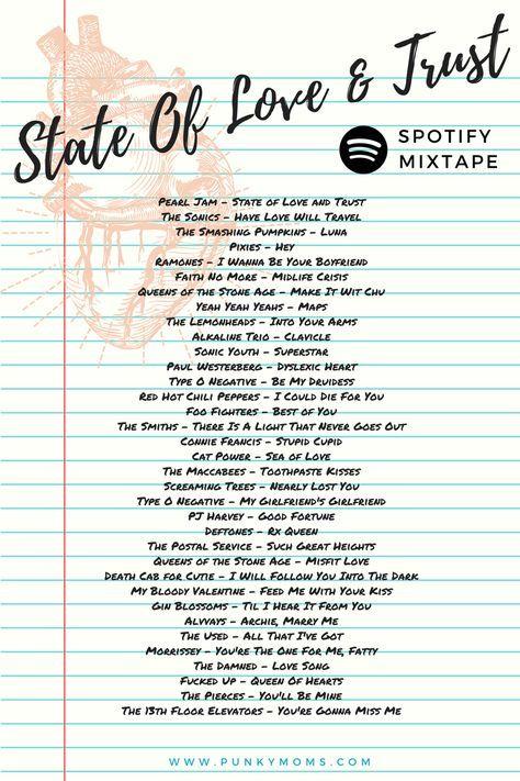 State Of Love Trust Alternative Love Playlist On Spotify Indie Love Songs Love Songs Playlist Love Songs