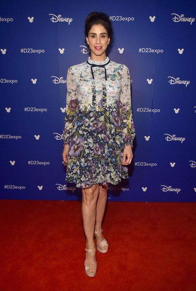 Actor Sarah Silverman attends Disney's D23 EXPO 2017.