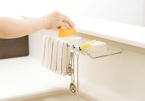 Yes Berry カウンタートップをくまなく使いこなせば解決です トクラスキッチン トクラス キッチンのカウンタートップ キッチン 収納 引き出し インテリア 収納