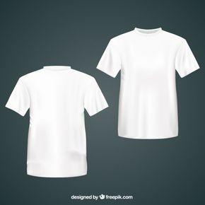 Download Branco Camiseta Baju Kaos Pakaian Pria Pakaian