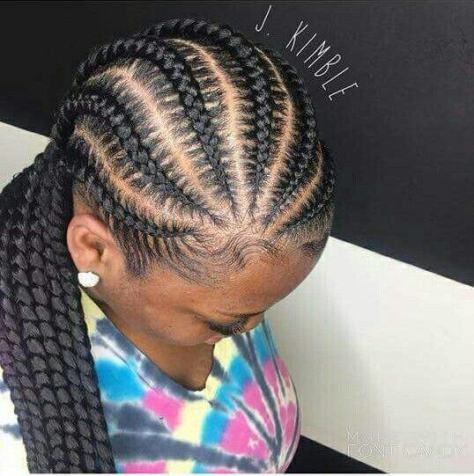 Cornrow Braids Hair Styles 2018 With Images Natural Hair Styles