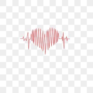 حب المحبة الخط نبض القلب المرسومة الصالح العام الحب الأحمر Png والمتجهات للتحميل مجانا Charity Striped Top Women