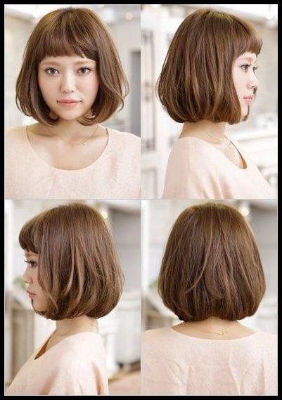 Trendige kurze Bob Frisuren für japanische Frauen 26 26 ...