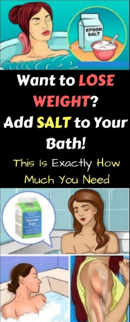 How To Make Epsom Salt Bath For Weight Loss Intimates Epsom Salt