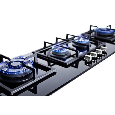 Summit 43 Gas Cooktop With 4 Burners Gas Cooktop Outdoor Kitchen Outdoor Kitchen Design