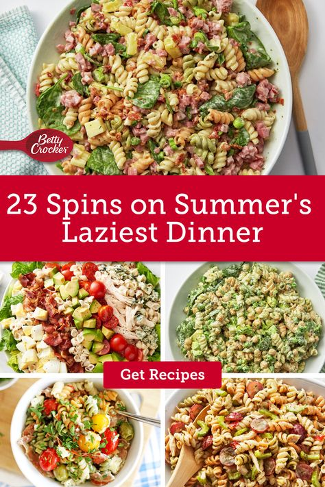 Our 23 Spins on Summer's Laziest Dinner are perfect for quick, easy meals. Pin today for meals the whole family will love.