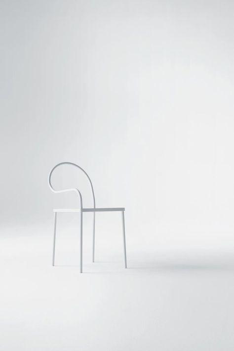 Softer than steel | 695 | Chair - collaboration between Nendo & Desalto