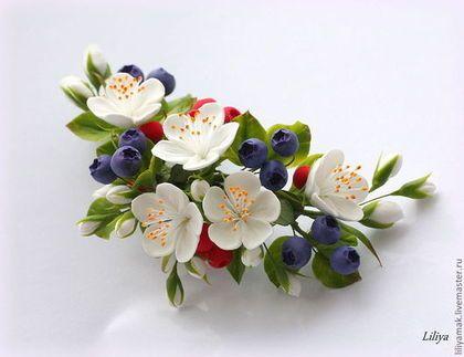 Купить цветы для заколок своими руками живые цветы из питомника польские оптом