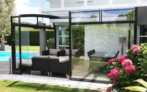 Abri Terrasse Coulissant Et Retractable Veranda