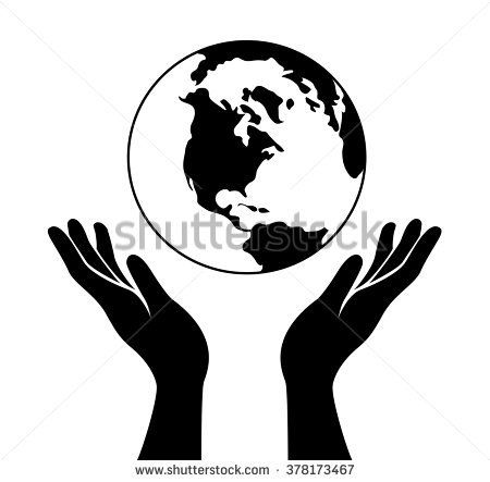 Image Result For Hands Holding The World Logo Hands Holding The World World Globe Tattoos Earth Drawings