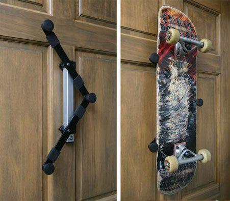 bordz up skateboard display and storage