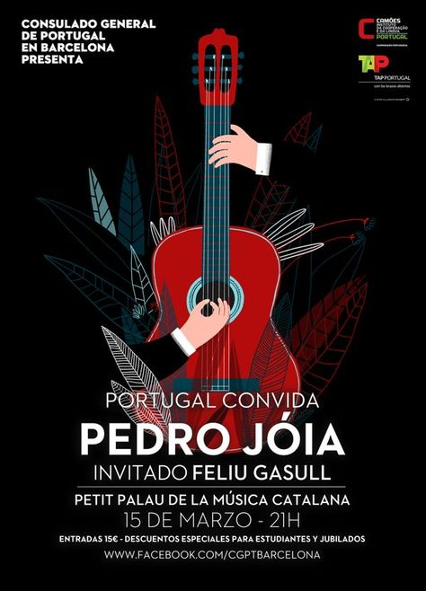 Graphic Design - Graphisms , Typography , Infographics and Design  - Concert Poster by Ana Seixas, via Behance  Graphisms , Typography , Infographics and Design :     – Picture :     – Description  Concert Poster by Ana Seixas, via Behance  -Read More –