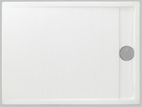 Duschwanne superflach 180 x 90 x 2,5 cm weiß Duschtasse mit ... | {Duschwanne flach 120 x 90 17}