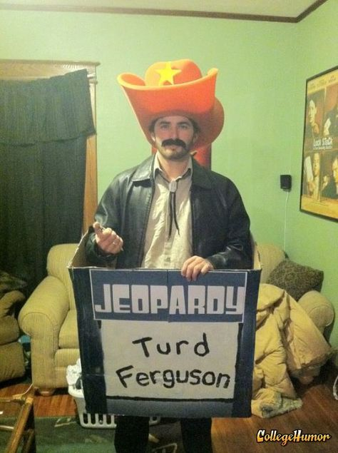 Might just be The. Best. Costume. Ever. Turd Ferguson (SNL Celebrity Jeopardy)