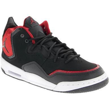 Air Jordan Courtside 23 Big Kids Basketball Shoes Black Red | Boys ...