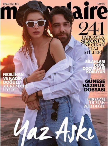 Neslihan Atagul Kadir Dogulu Marie Claire Magazine Cover Turkey June 2018 Famousfix Com Post Marie Claire Magazine Cover Actresses Actors