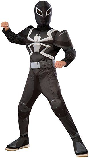 Marvel Venom Jumpsuit Kinder Jungen Halloween Superheld Cosplay Kostüm Outfits
