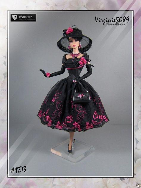 Tenue Outfit Accessoires Pour Fashion Royalty Barbie Silkstone Vintage 1273 | eBay
