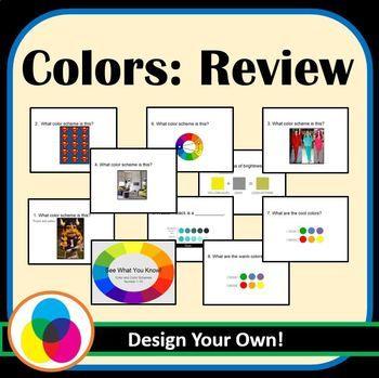 Color Scheme Review Color Schemes Life Skills School Design