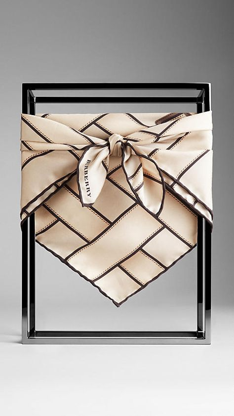 Shop the complete collection of women's scarves from Burberry.