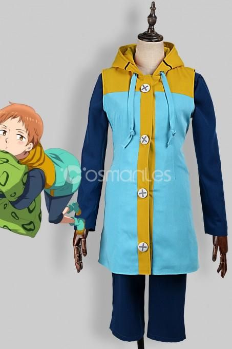 The Seven Deadly Sins 七つの大罪 king キング Grizzly/'s Sin of Sloth Cosplay Costume