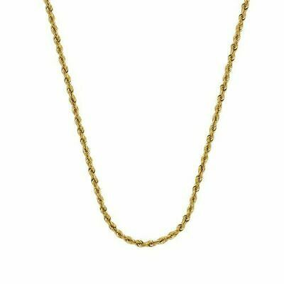 Midas Chain Women S 10k Gold 24 Hollow Rope Chain Gold Rope Chain Chain Necklace Gold